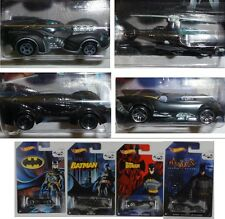 BATMAN Set 4 Modellini BATMOBILE Batcopter 75 Anniversary HOT WHEELS 1/64 Models