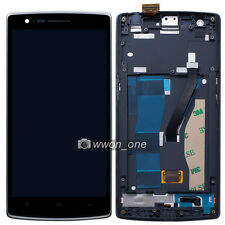 New Touch Screen Digitizer+Lcd Display Assembly+Frame For OnePlus One 1+ A0001