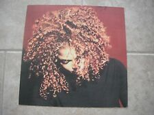 Janet Jackson Velvet Rope 1997 Promo LP Photo Flat 12x12 Poster 2Sided