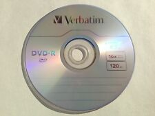 10 Pack Verbatim DVD-R 16X Logo Blank  Recordable Disc 4.7GB In Paper Sleeve