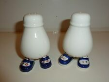 Lovely Made in England Foot Figurine Salt & Pepper Shakers