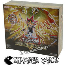 YuGiOh Millennium MIL1 1st Edition Booster Box Konami New Sealed 36 Pack