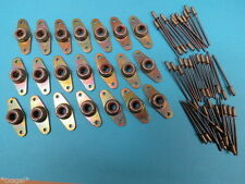 1/4-20 Fiber Lock Nutplates + Rivets Rat Rod Hot Custom Race Sprint