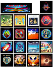JOURNEY 18 pack of album cover discography magnets lot - (boston styx foreigner