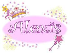 Personalized PRINCESS PILLOWCASE Crown & Wand Any NAME Super Soft