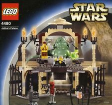 Lego 4480 Star Wars Jabba's Palace 100% Complete with all minifigs & manual