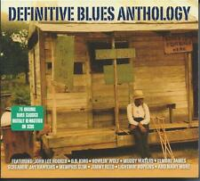 Definitive Blues Anthology - 75 Original Blues Classics (3CD 2009) NEW/SEALED