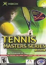 Tennis Masters Series 2003 XBOX DISC ONLY