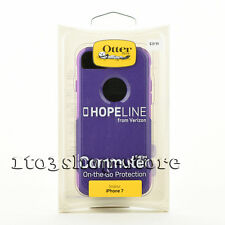 """OtterBox Commuter Dual-Layers Hard Case Cover for iPhone 7 4.7"""" HopeLine Purple"""