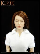 1/6 Kumik Accessory - Action Figure Female Head Sculpt KM007 For Phicen Hot Toys