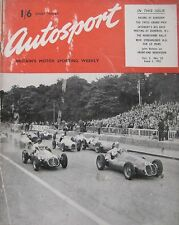AUTOSPORT magazine 1/6/1951 Vol.2, No.22