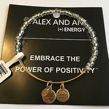 "ALEX AND ANI ""CREST SHIMMERING SEA BEAD"" BRACELET IN  YELLOW GOLD FINISH! NWT!"