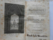 SCHWETZINGEN Park Zeyher Roemer Haldenwang Adelmann Rudolph Staehlin Moschee