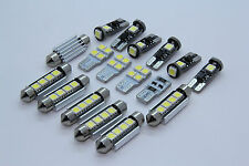 BMW E60 Saloon + M5 FULL LED Interior Lights 17 pcs SMD Bulbs White GR