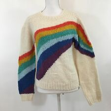 NEW Kimchi Blue Urban Outfitters Rainbow Sweater Alpaca Size Small