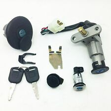 IGNITION LOCK KEY SET SCOOTER GY6 CHINESE 4STROKE 50-150cc PEACE ZNEN JMSTAR BMS