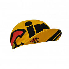 Cinelli Cap Collection:  Nemo Tig Cycling Cap in Yellow - Made in Italy