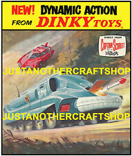 Dinky Toys 103 104 SPC SPV Gerry Anderson Large Size Poster Sign Advert Leaflet