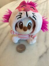 Rare Disney Baby Mickey Mouse Doll dressed as Cheshire Cat (hood is removable)
