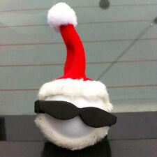 Chic Santa Claus Antenna Balls Car Aerial Ball Antenna Topper & Decor Ball Xmas