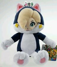 SUPER MARIO 3D WORLD ROSALINDA GATTO PELUCHE - 23Cm. - Rosalina Plush Cat Wii U