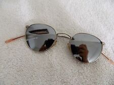 Vintage sunglasses 60's Optical Affairs 8330, silver metal. Made in Austria