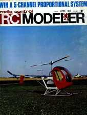 R/C RADIO CONTROL MODELLER MAGAZINE 1973 APR ACRO-STAR, ART CHESTER'S JEEP