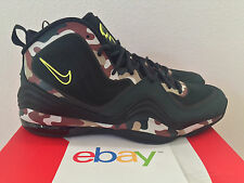 2013 DS Nike Air Penny V 5 GREEN CAMO Size 13 volt foamposite one pro 628569 307