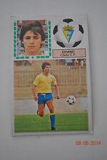 Cromo Liga 83-84. Chano. Cadiz C.F. Ediciones Este. Despegado