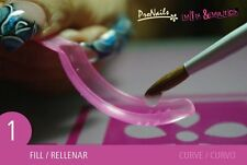 12 PK Mix&Match Extra Long Curve From Pronails Best Dual System Form
