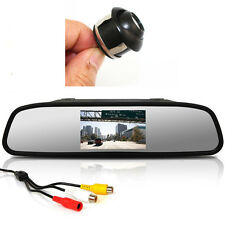 "360° CCD HD Backup Parking Camera + 4.3"" TFT Rearview Mirror monitor Screen Kits"