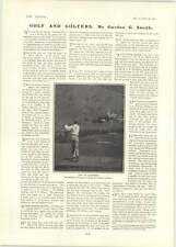 1902 Nat Wilshire Driving Ninth Green Santa Catalina California