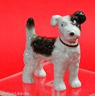 Antiker Terrier Hund dog Figur figure figurine gemarkt Porzellan