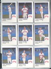 1986 Kinston Eagles Scott Melvin Quincy Illinois IL Baseball Card