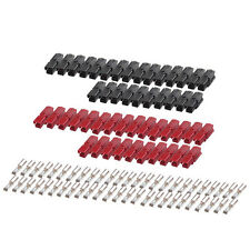 ANDERSON POWERPOLE Sermos Stlye 30 Amp (25 pair) AC/DC Connectors Red/Black