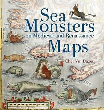 Sea Monsters on Medieval and Renaissance Maps, Van Duzer, Chet, Good Condition,