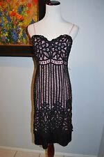 Vintage Betsey Johnson Battenburg Lace Dress Size 6