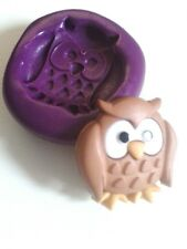Cute Silicone Owl Mould 23 mm Sugarcraft Fondant Sugarpaste Icing Cake Decorate
