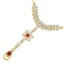 Sukkhi Finely Gold Plated AD Hathphool For Women(52008HPGLDPD3100)