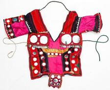 RABARI BANJARA TRIBAL ETHNIC KUCHI BELLY DANCE OLD INDIAN CHOLI TOP ATS