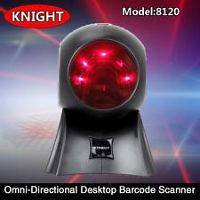 Desktop Omnidirectional 20 Lines Laser Flatbed Barcode Scanner Bar code Reader