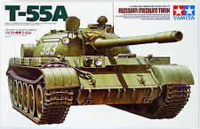 Tamiya 35257 1/35 Russian Medium Tank T-55A Limited from Japan Rare