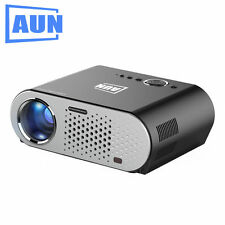 AUN Projector T90S 1280x768 Android WIFI Bluetooth KODI Play AC3 3200 Lumens TV