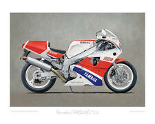 Motorcycle Limited Edition Print - Yamaha FZR750R OW01