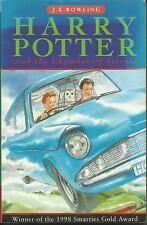 Harry Potter and The Chamber of Secrets Third Book in series Good Condition