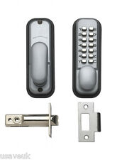 Britannico Push Button Mechanical DIGITAL DOOR LOCK ARGENTO 9160