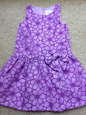 NEW Girls Size 4 Gymboree Dress Egg Hunt Embroidered Organza Purple $59+ NWT