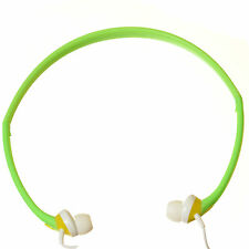 Sport In-Ear Headphones Neckband Earphone for Phone MP3 MP4 iPod iPhone - Green