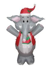 Christmas Inflatable Elephant Yard Outdoor Garden Decoration Balloon Stage Prop