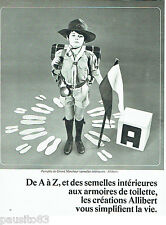 PUBLICITE ADVERTISING 086  1967  Allibert   semelles grand marcheur scout